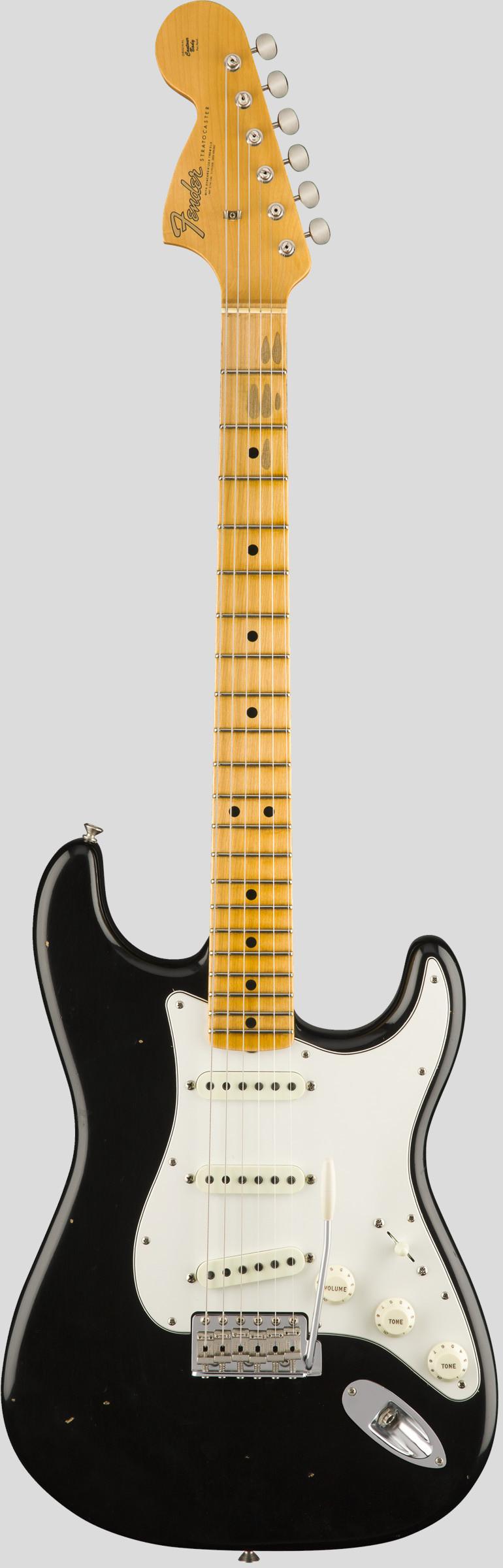 Fender Custom Shop Jimi Hendrix Voodoo Child Stratocaster Black Journeyman Relic 1