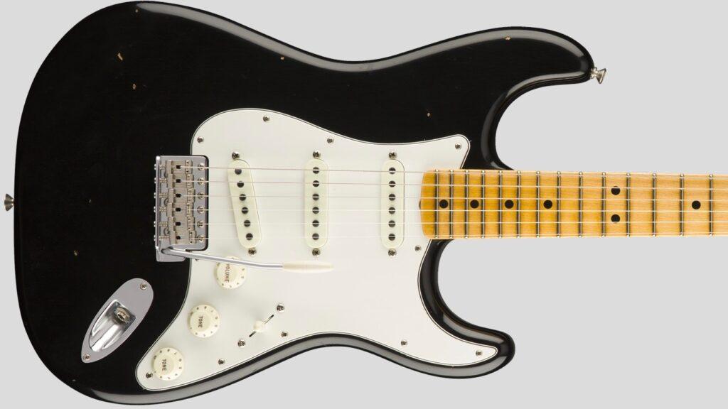Fender Custom Shop Jimi Hendrix Voodoo Child Stratocaster Black Journeyman Relic 1510682806 Made in Usa