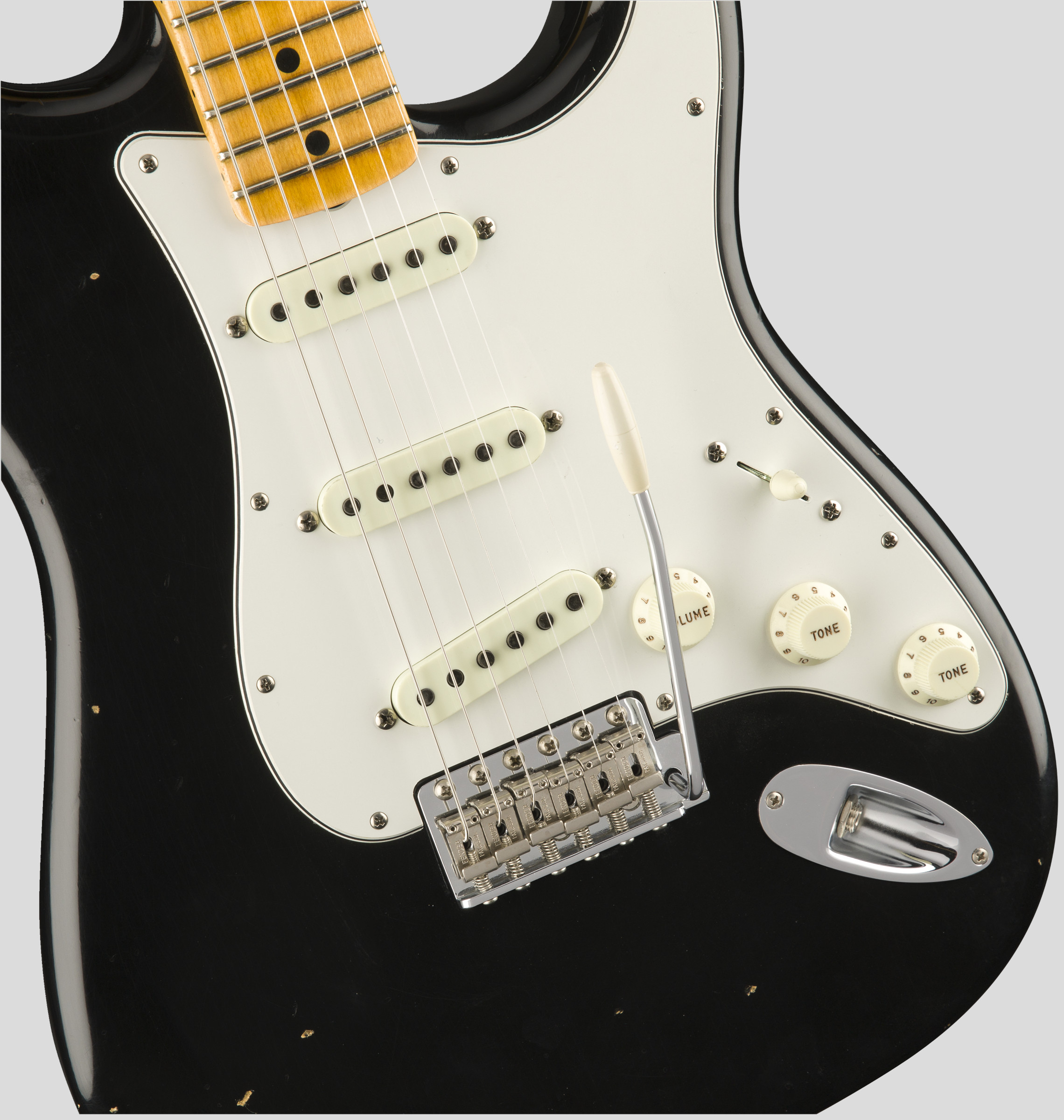 Fender Custom Shop Jimi Hendrix Voodoo Child Stratocaster Black Journeyman Relic 3