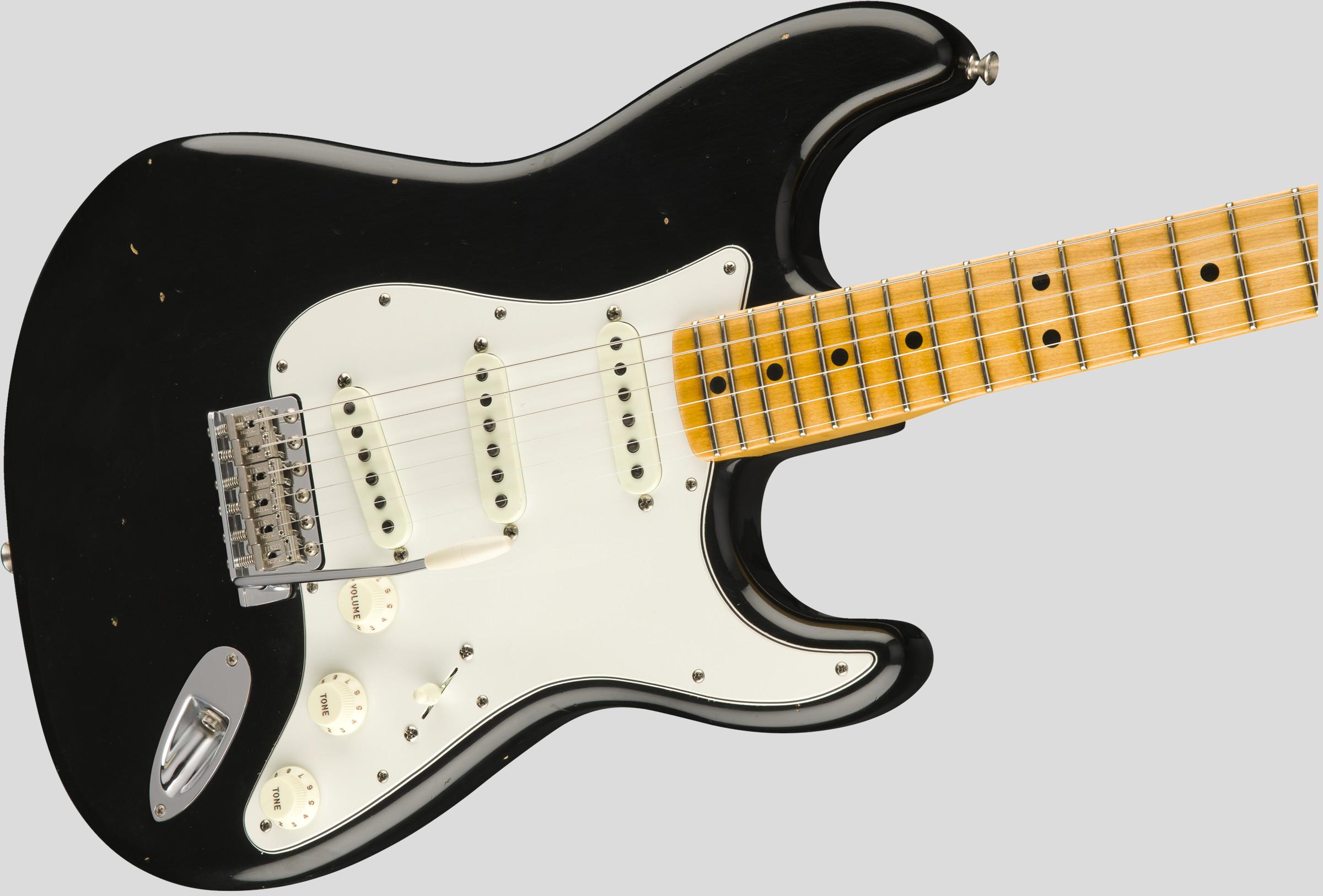 Fender Custom Shop Jimi Hendrix Voodoo Child Stratocaster Black Journeyman Relic 4