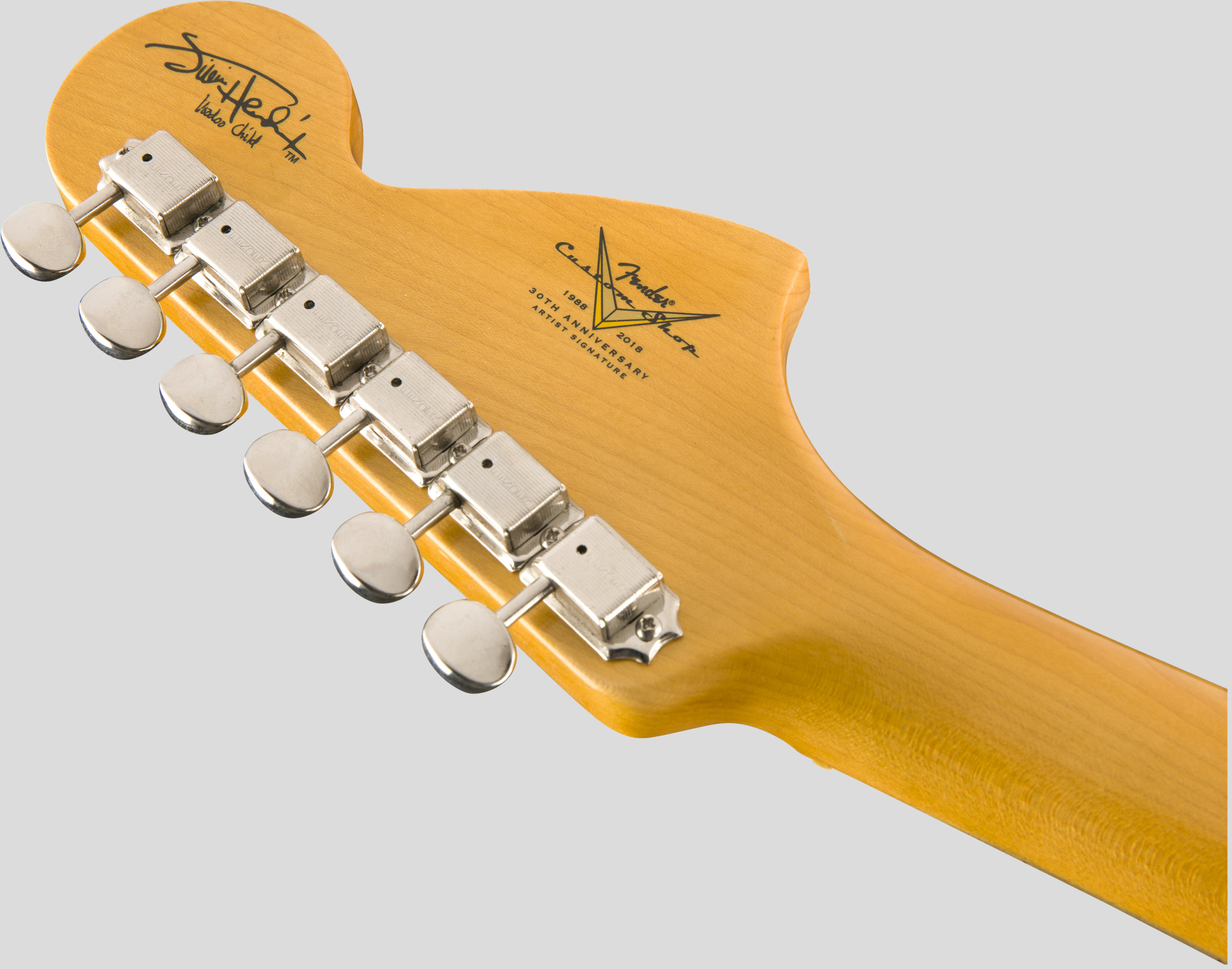Fender Custom Shop Jimi Hendrix Voodoo Child Stratocaster Black Journeyman Relic 6