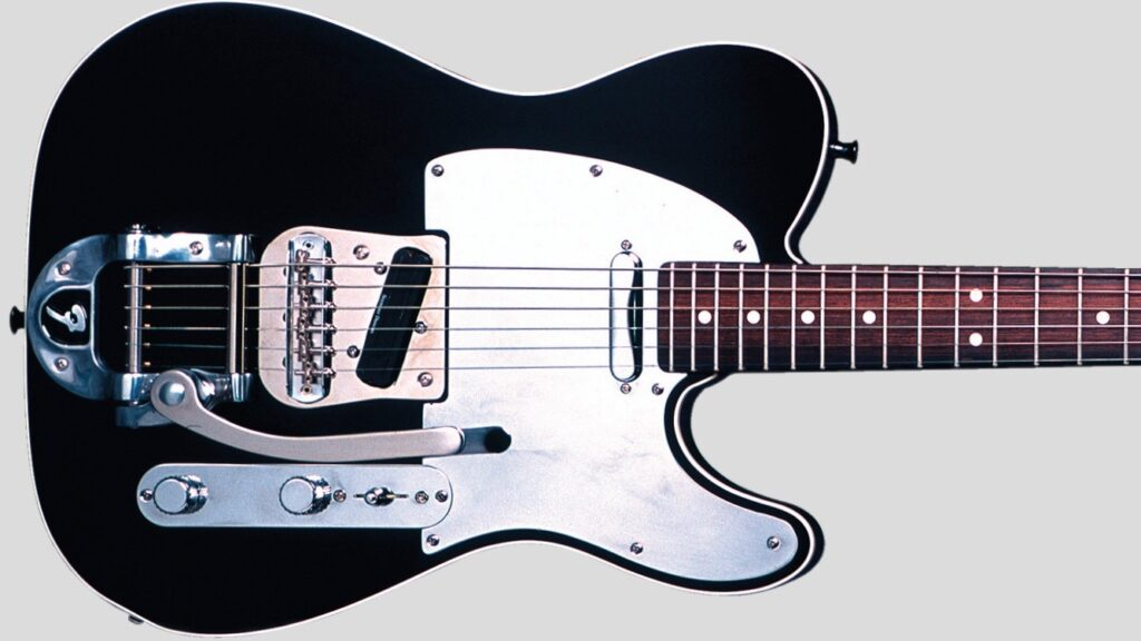 Fender Custom Shop John 5 Bigsby Telecaster Black 0155500806 Made in Usa