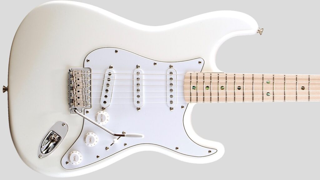 Fender Custom Shop Robin Trower Stratocaster Arctic White 0155102880 Made in Usa