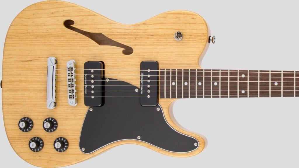 Fender Jim Adkins JA-90 Telecaster Thinline Natural 0262354521 Made in Indonesia con custodia Fender in omaggio