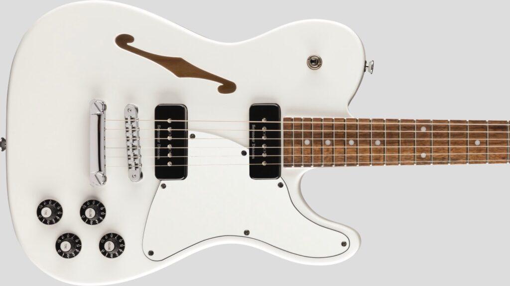 Fender Jim Adkins JA-90 Telecaster Thinline White 0262354580 Made in Indonesia inclusa custodia Fender