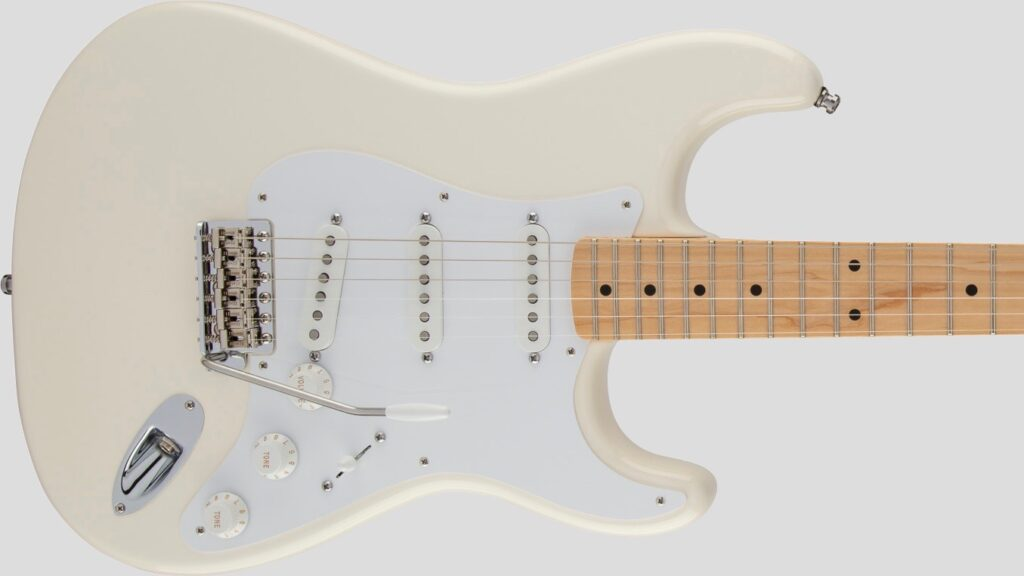 Fender Jimmie Vaughan Tex-Mex Stratocaster Olympic White 0139202305 Made in Mexico inclusa custodia Fender