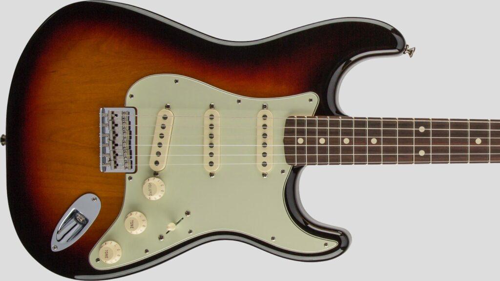 Fender Robert Cray Stratocaster 3-Color Sunburst 0139100300 Made in Mexico inclusa custodia Fender