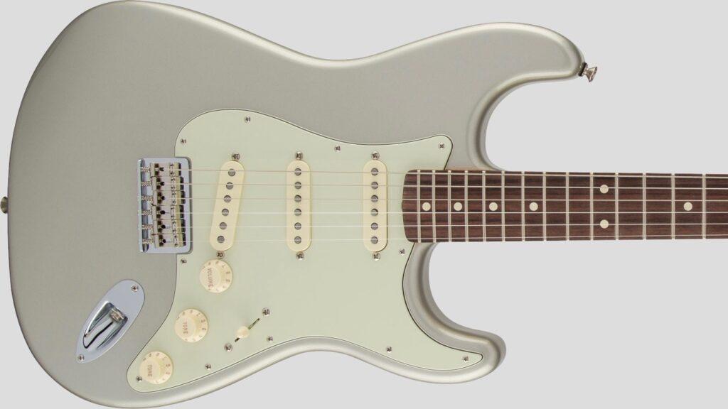 Fender Robert Cray Stratocaster Inca Silver 0139100324 Made in Mexico inclusa custodia Fender