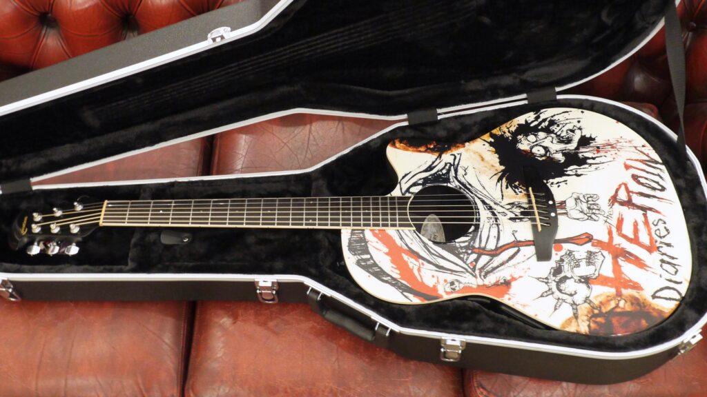 Ovation Nikki Sixx NS28-HD 2011 The Heroin Diaries con custodia rigida Ovation in omaggio