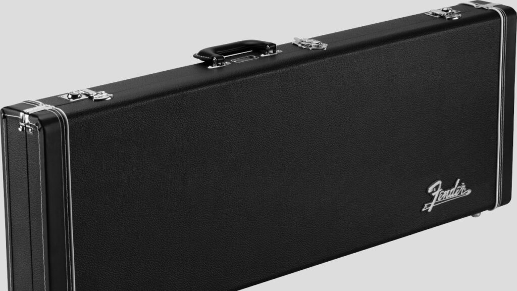 Fender Classic Wood Case per chitarra elettrica Stratocaster / Telecaster Black 0996106306