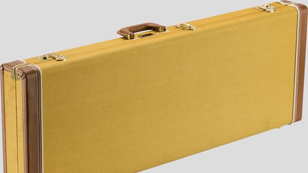 Fender Classic Wood Case per chitarra elettrica Stratocaster / Telecaster Tweed 0996106300