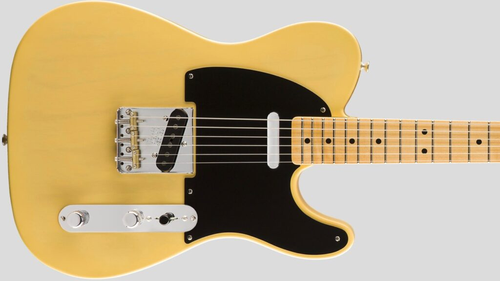 Fender Custom Shop 1950 Double Esquire Vintage Custom Nocaster Blonde NOS 9235000563 Made in Usa