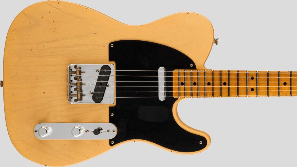 Fender Custom Shop 1951 Telecaster Limited Edition Aged Nocaster Blonde Journeyman Relic Made in Usa