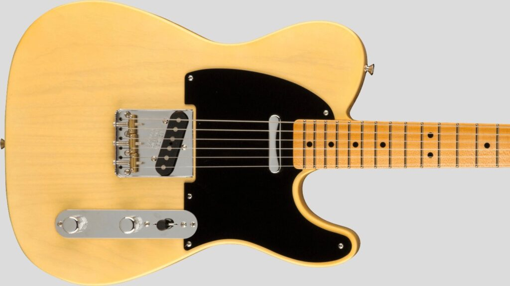Fender Custom Shop 1951 Telecaster Limited Edition Faded Nocaster Blonde NOS 9231012770 Made in Usa
