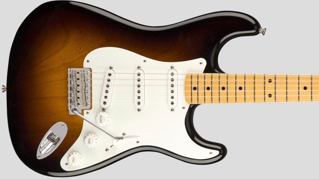 Fender Custom Shop 1955 Stratocaster Vintage Custom Wide-Fade 2-Color Sunburst NOS 9235000860 Made in Usa