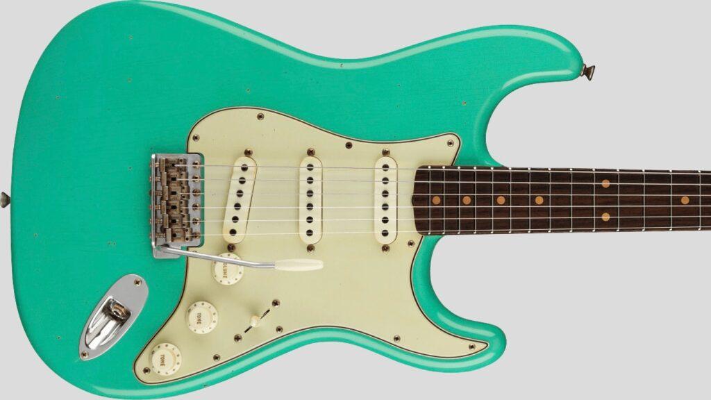 Fender Custom Shop 62/63 Stratocaster Limited Edition Aged Seafoam Green Journeyman Relic 9231012526