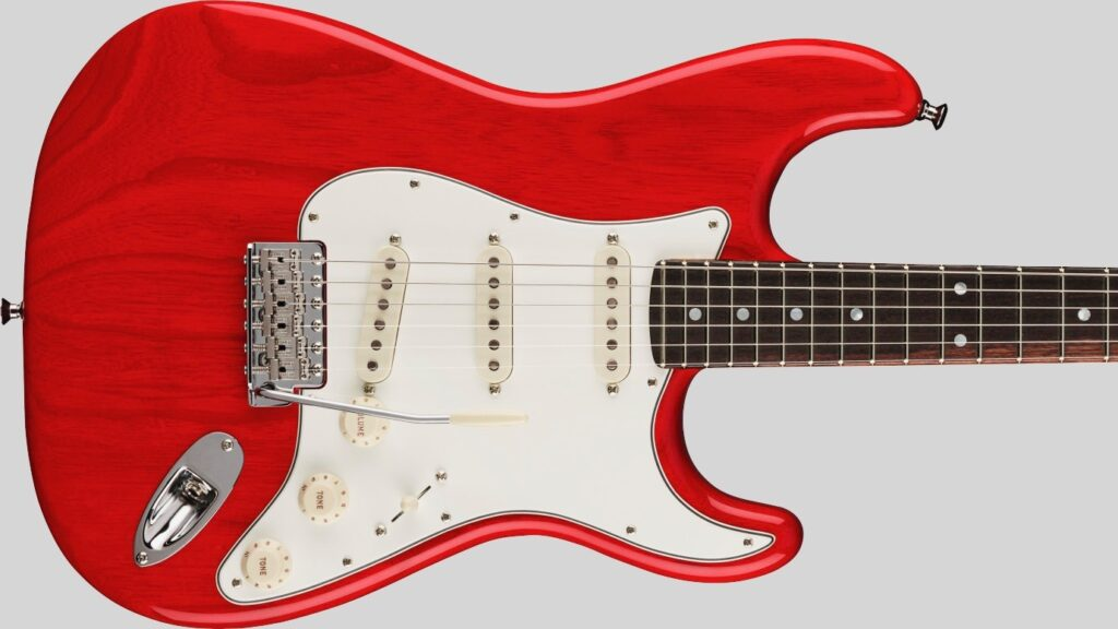 Fender Custom Shop Stratocaster American Custom Crimson Transparent NOS 9235001204 Made in Usa