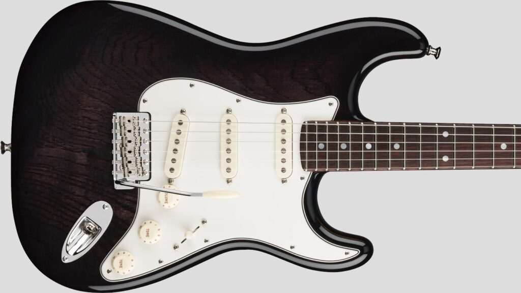 Fender Custom Shop Stratocaster American Custom Ebony Transparent NOS 9235001203 Made in Usa