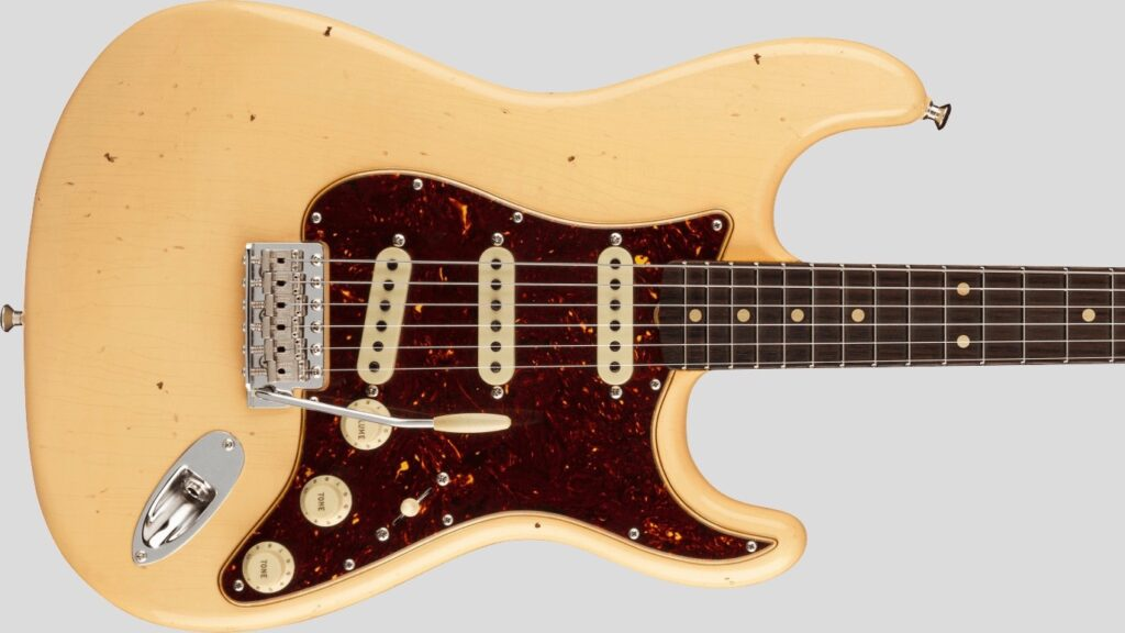 Fender Custom Shop Stratocaster Postmodern Aged Vintage White Journeyman Relic 9231012916 Made in Usa
