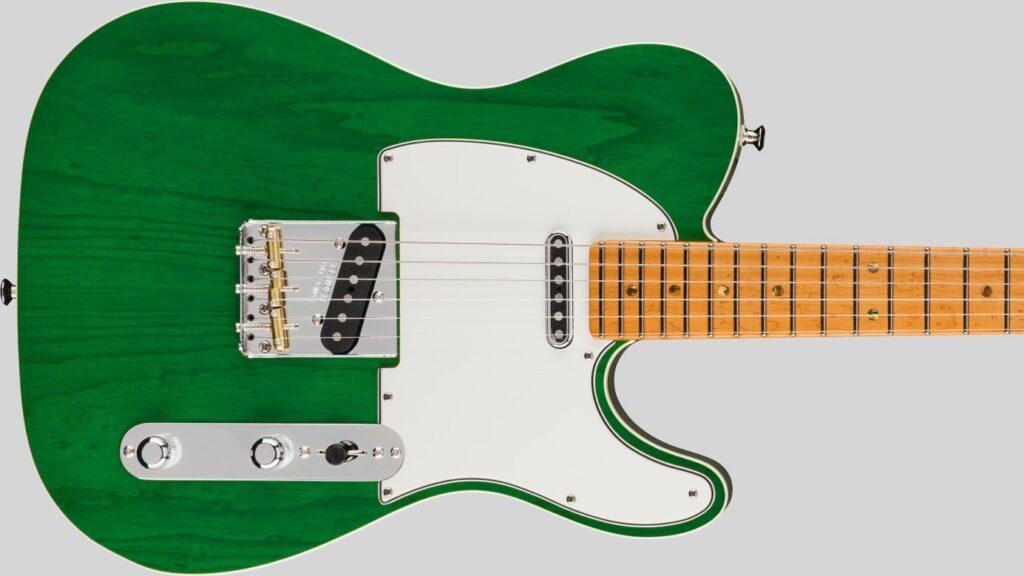 Fender Custom Shop Telecaster American Custom Emerald Green Transparent NOS 9235001206 Made in Usa