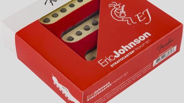 Fender Eric Johnson Stratocaster Pickup Set 0992248000 Made in Usa