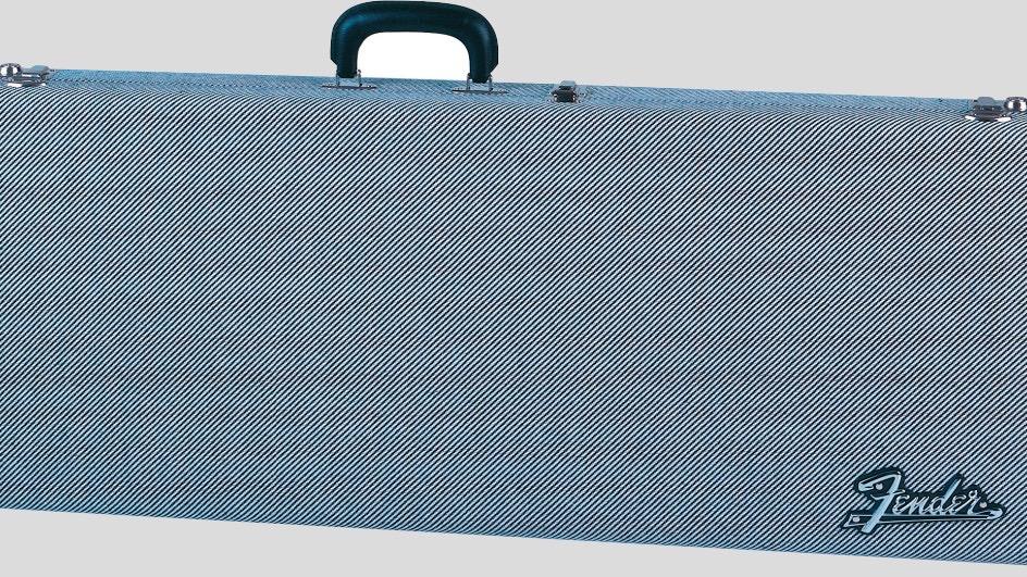 Fender G&G Deluxe Hardshell Case Stratocaster / Telecaster Black Tweed 0996101406 Made in Usa