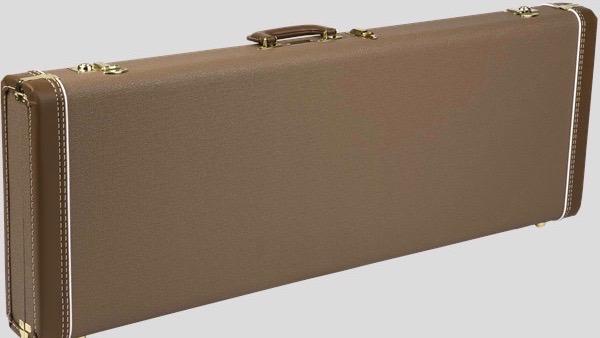 Fender G&G Deluxe Hardshell Case Stratocaster / Telecaster Brown 0996108422 Made in Usa