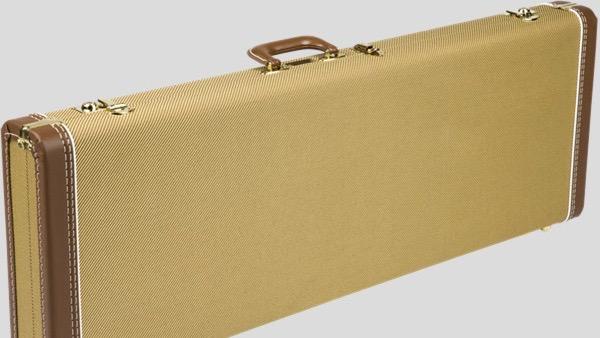 Fender G&G Deluxe Hardshell Case Stratocaster / Telecaster Tweed 0996103400 Made in UsaFender G&G Deluxe Hardshell Case Stratocaster / Telecaster Tweed 0996103400 Made in Usa