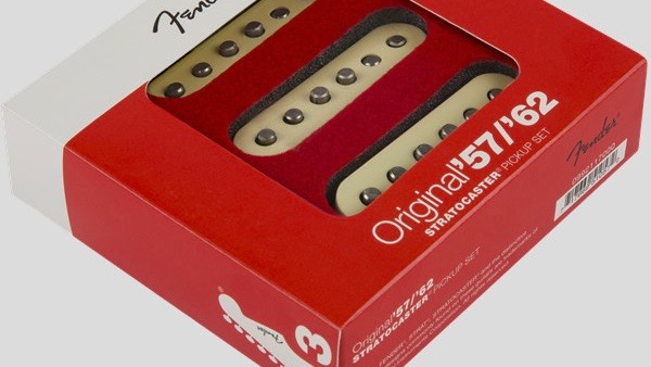 Fender Original 57/62 Stratocaster Pickup Set 0992117000 Made in Usa