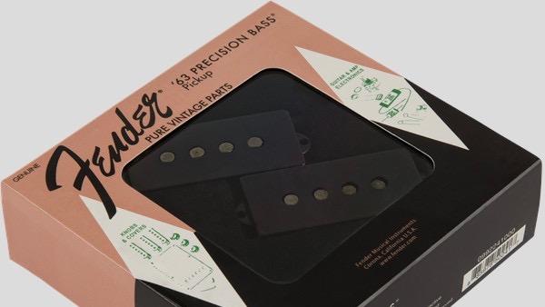 Fender Pure Vintage 63 Precision Bass Pickup 0992241000 Made in Usa inclusi manuale, viti e gommini