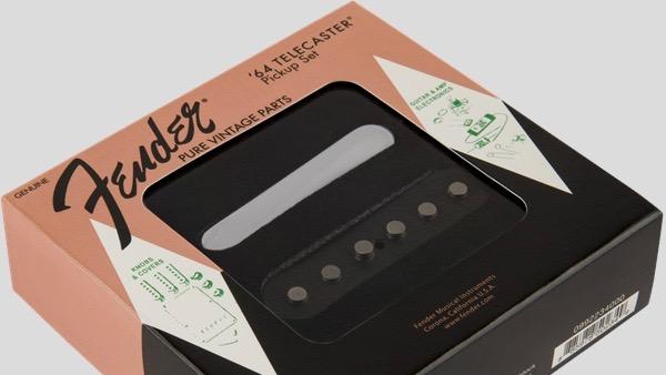 Fender Pure Vintage 64 Telecaster Pickup Set 0992234000 Made in Usa