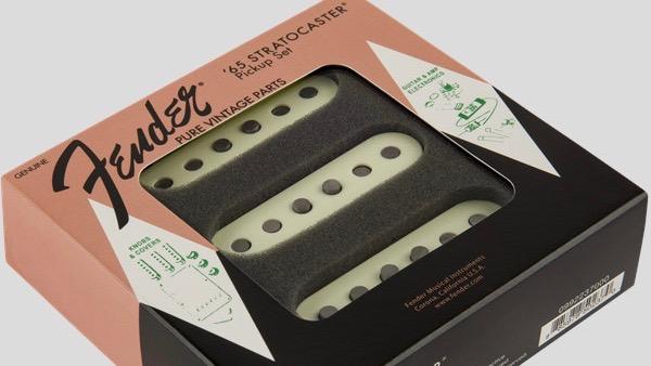 Fender Pure Vintage 65 Stratocaster Pickup Set 0992237000 Made in Usa