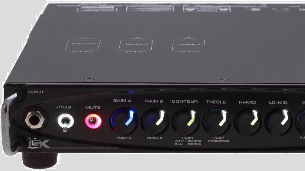 Gallien-Krueger MB Fusion 800 Made in Usa 800 watt 4 ohm
