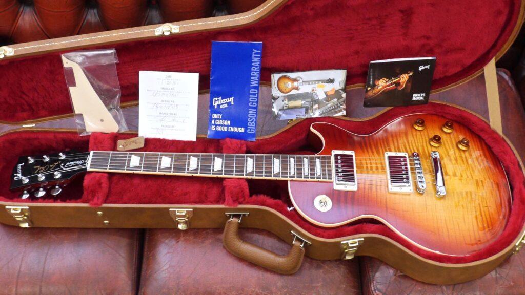 Gibson Les Paul Standard 2018 Heritage Cherry Sunburst Made in Usa inclusa custodia rigida Gibson