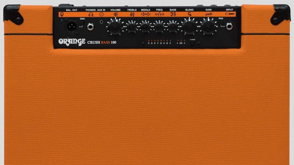 Orange Crush Bass 100 watt 1x15 with Chromatic Tuner