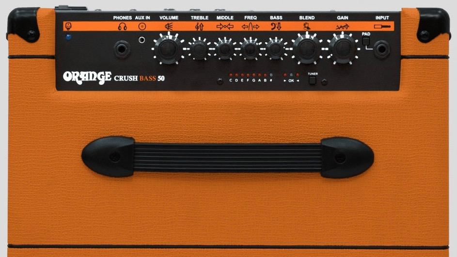 Orange Crush Bass 50 watt 1x12 with Chromatic Tuner