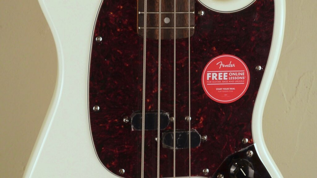 Squier by Fender 60 Mustang Bass Classic Vibe Olympic White 0374570505