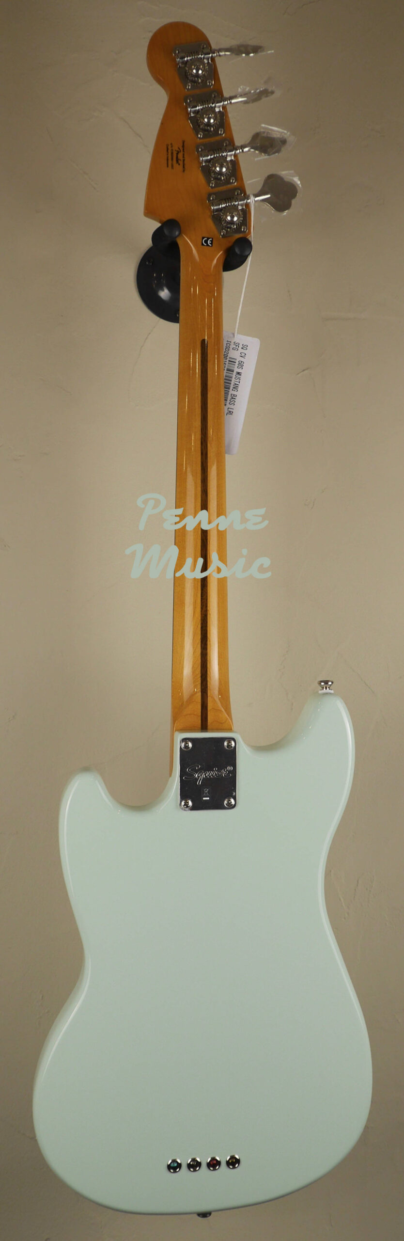 Squier by Fender 60 Mustang Bass Classic Vibe Surf Green 2