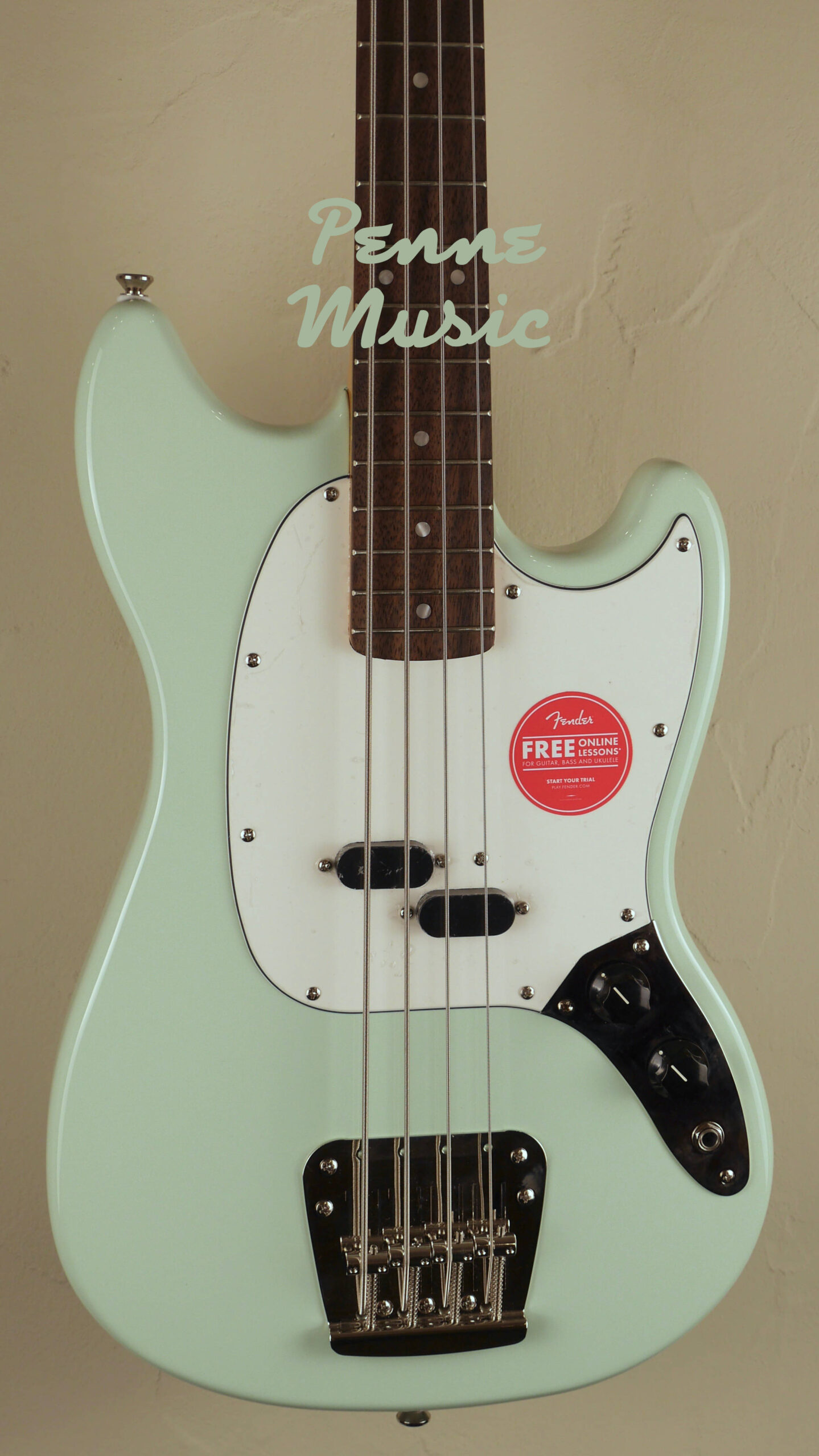 Squier by Fender 60 Mustang Bass Classic Vibe Surf Green 3