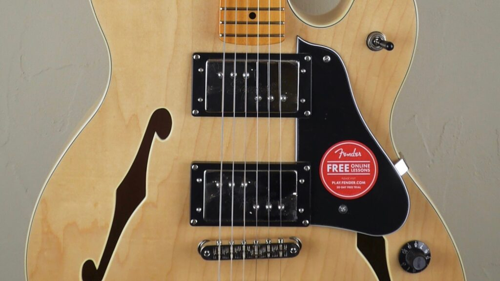 Squier by Fender Starcaster Classic Vibe Natural 0374590521