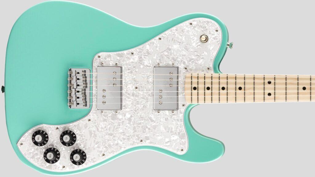 Fender 70 Telecaster Deluxe Traditional Seafoam Green 5250041330 Made in Japan inclusa custodia Fender Gig Bag