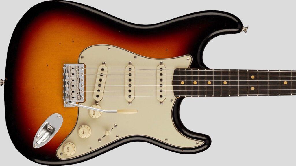 Fender Custom Shop 1963 Stratocaster Time Machine 3-Color Sunburst Journeyman Relic 9235001422