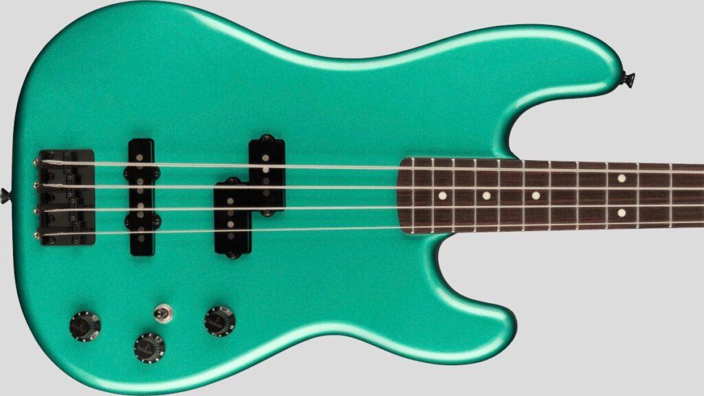 Fender Precision Bass PJ Boxer Sherwood Green Metallic 0251760346 Made in Japan inclusa custodia Fender Gig Bag