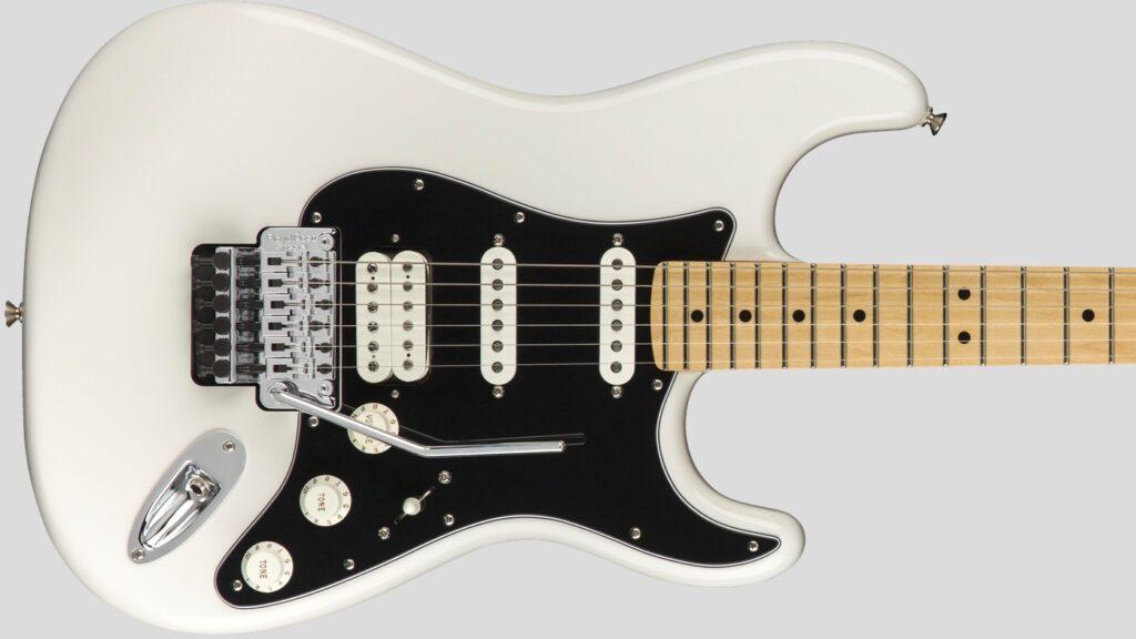 Fender Stratocaster Floyd Rose HSS Player Polar White 1149402515 Made in Mexico con custodia Fender in omaggio