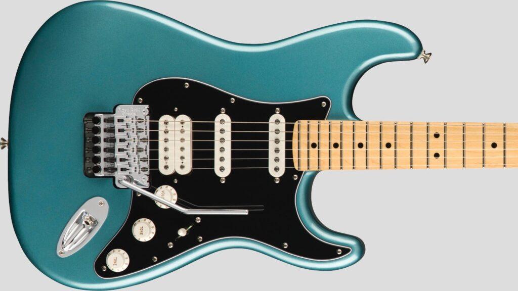 Fender Stratocaster Floyd Rose HSS Player Tidepool 1149402513 Made in Mexico con custodia Fender in omaggio