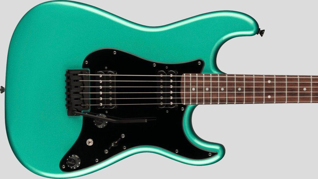 Fender Stratocaster HH Boxer Sherwood Green Metallic 0251750346 Made in Japan inclusa custodia Fender Gig Bag