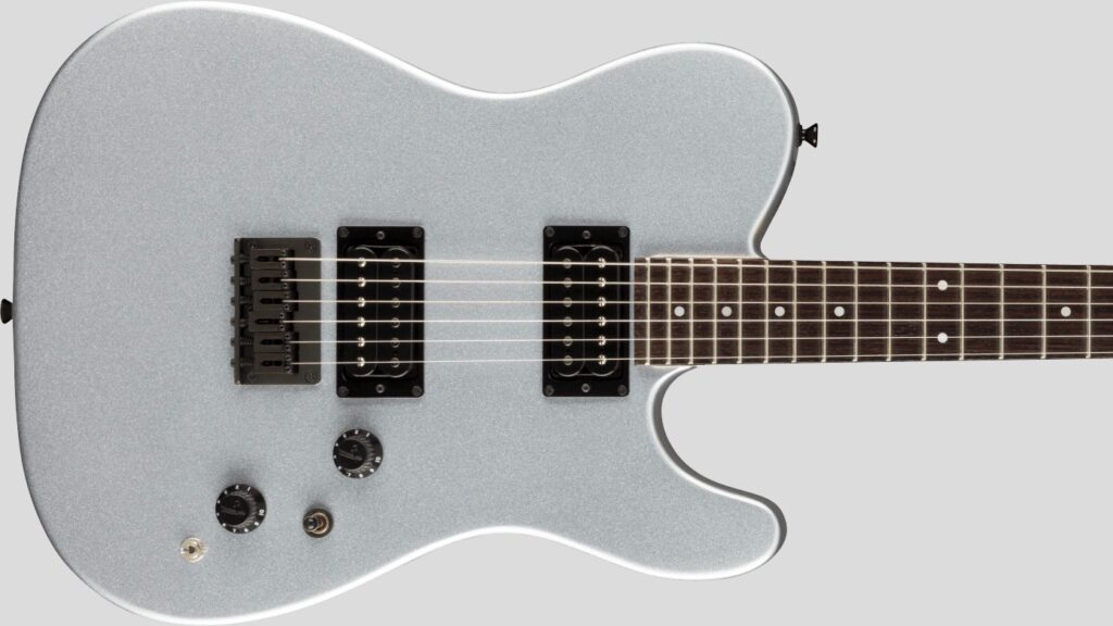 Fender Telecaster HH Boxer Inca Silver 0251770324 Made in Japan inclusa custodia Fender Gig Bag