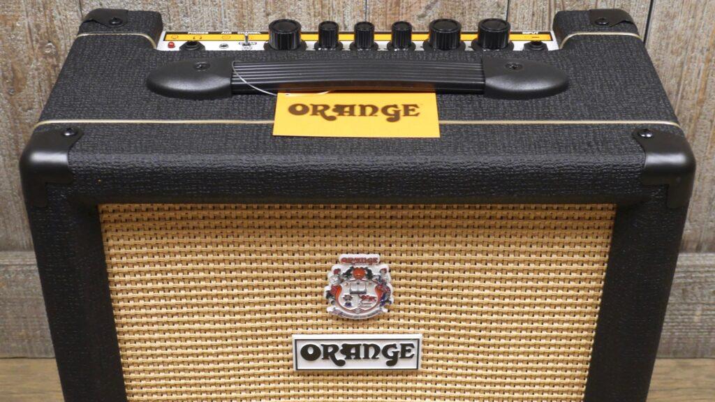 Orange Crush 20 Black 20 watt di potenza con 1 cono da 8 pollici