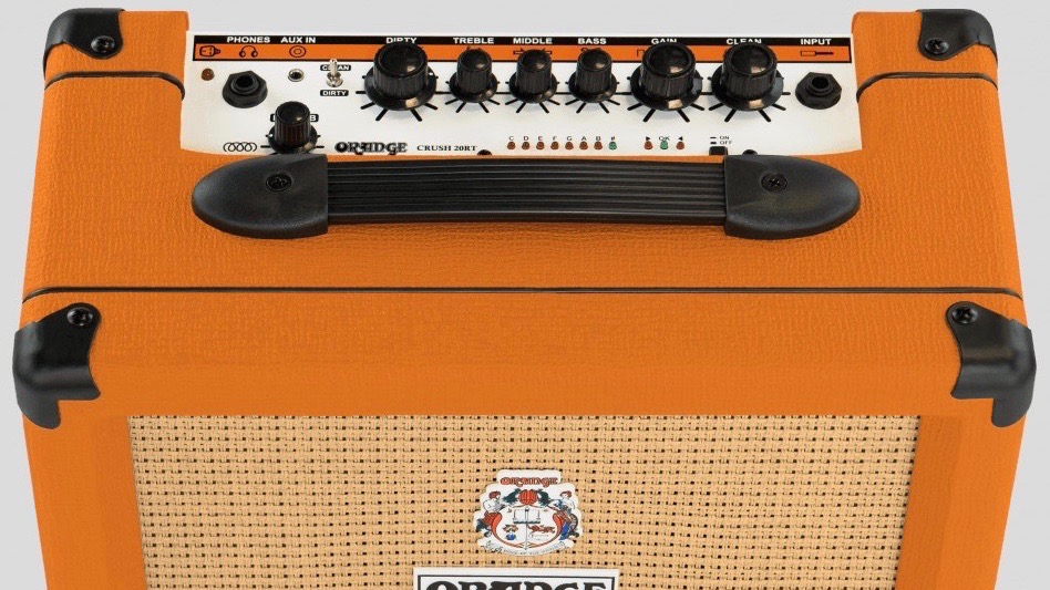 Orange Crush 20RT 20 watt 1x8 with Reverb and Chromatic Tuner