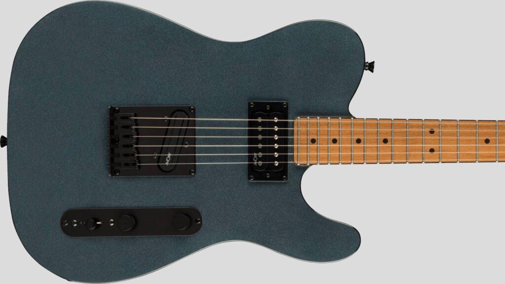 Squier by Fender Telecaster RH Contemporary Gunmetal Metallic 0371225568 con custodia Fender in omaggio